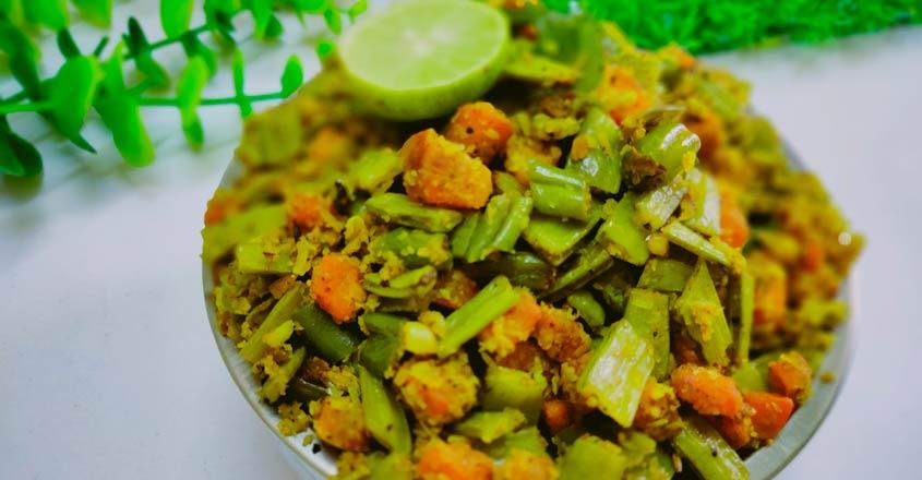vegetable thoran