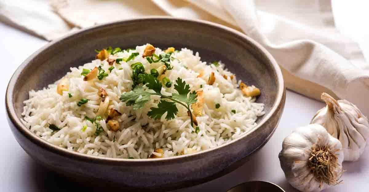garlic butter rice