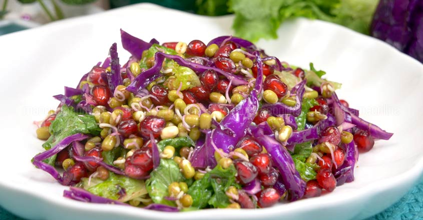 Try this sprout salad to shed those extra kilos