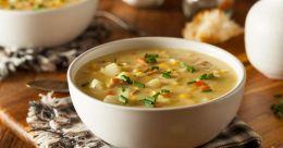 Barley soup to ease heartburn