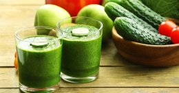 Cucumber-apple juice to shed weight