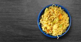 Cheesy Italian noodles