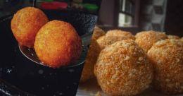 Vermicelli potato cheese balls
