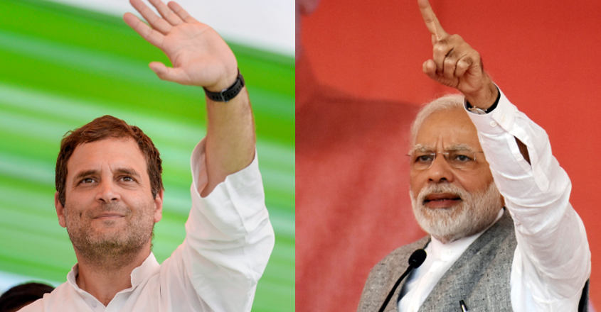 Modi, Rahul share campaign burden with other stalwarts
