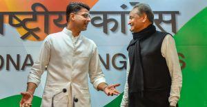 Rajasthan power games: Cong MLAs meet Gehlot amid speculation over Sachin Pilot