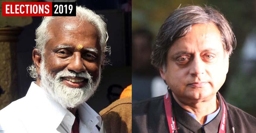Kummanam Rajasekharan, Shashi Tharoor