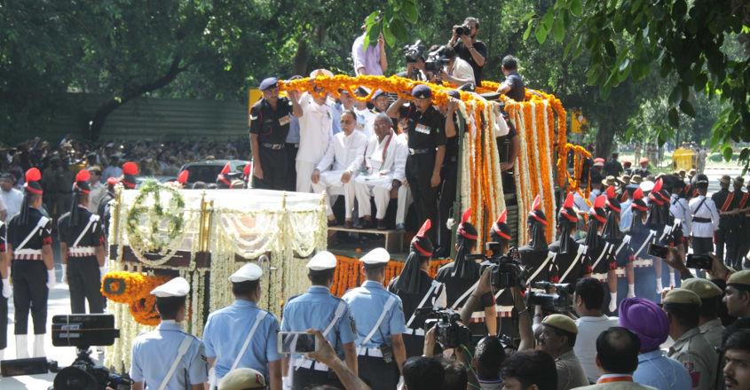 Vajpayee's final journey begins