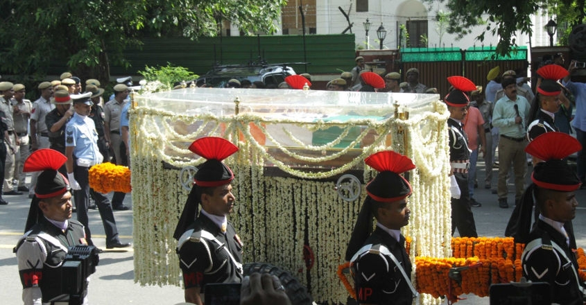 India bids farewell to former PM Vajpayee