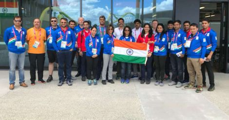 Indian contingent arrives in Gold Coast
