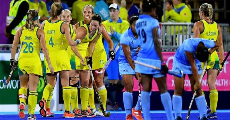 Indian women's hockey team loses to Australia, to play for bronze medal