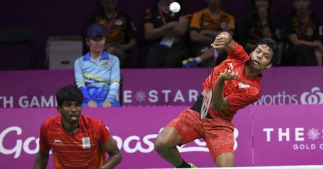 Shuttlers Satwik, Chirag end up with silver