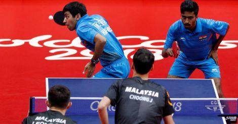Indian men's TT team stuns Singapore, enters CWG final