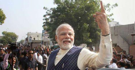 BJP loses Narendra Modi's hometown in Gujarat