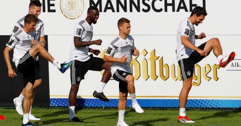 Germany's Rudy out of South Korea clash, Hummels fit