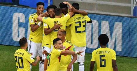 Senegal vs Colombia
