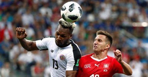 Switzerland vs Costa Rica