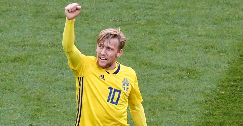 Forsberg guides Sweden into quarterfinals | Emil Forsberg ...