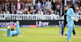 Did umpires err by awarding 6 runs to England with overthrow? Watch Video