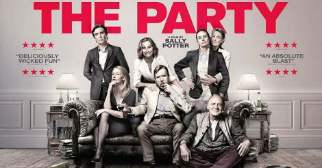 The Party: a black comedy in black and white