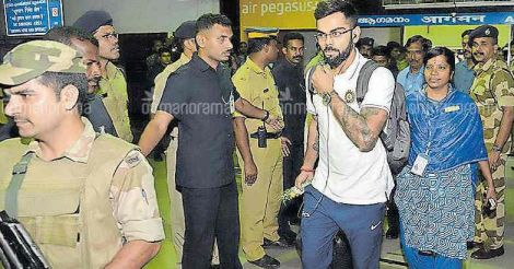 Teams arrive, Kerala gears up for 3rd T20I