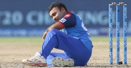 Amit Mishra dismissed for obstructing the field, gets trolled