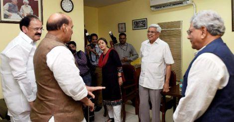 BJP meeting opposition on Prez poll 'more like PR exercise': Yechury
