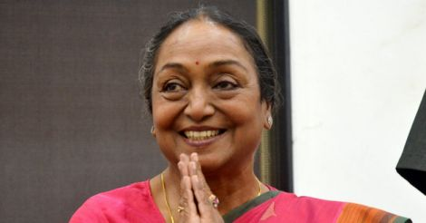 I am not a scapegoat in the presidential election: Meira Kumar