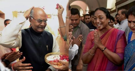 Stage set for direct contest between Kovind and Meira