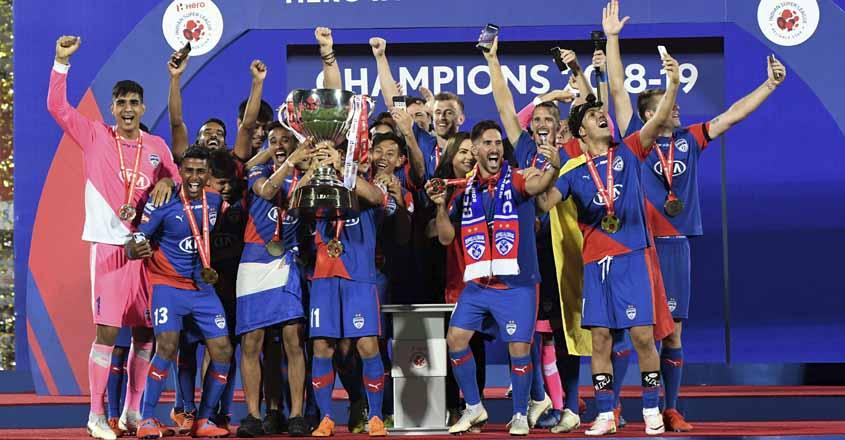 Bengaluru FC beat Goa to the land their maiden ISL title