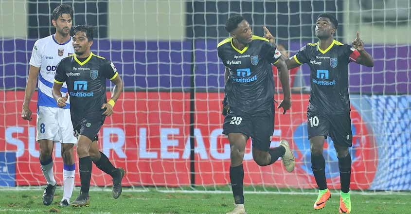 Odisha, Kerala share honours in eight-goal thriller