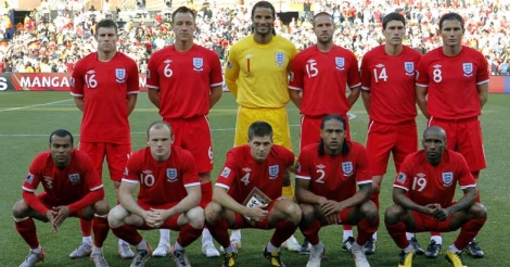 David James in England line-up