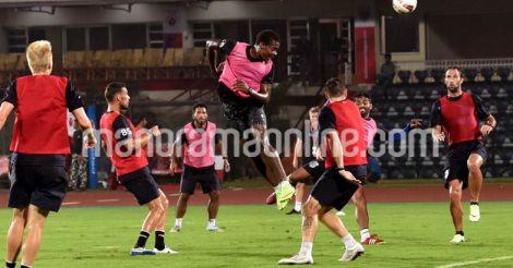 Kerala Blasters Training