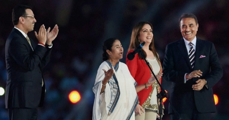 Nita Ambani replaces Mamata to declare ISL open