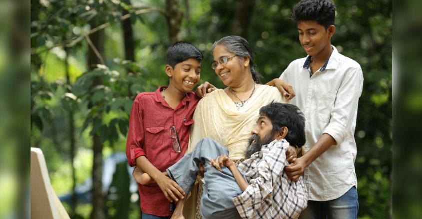 Johnson, Usha and children