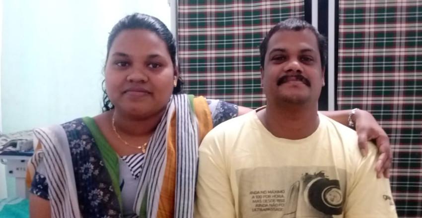 Aji and Remya
