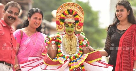 Kerala's adopted daughter's kid gets A grade in Ottan Thullal