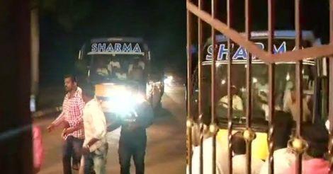 Congress, JD(S) MLAs reach safe haven in Hyderabad