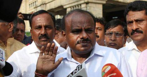 Kumaraswamy to meet Sonia, Rahul; rubbishes reports of CM seat sharing