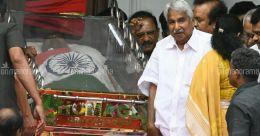 Leaders throng Rajaji Hall to pay last respects to Karunanidhi