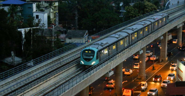 Affordable dorm rooms with WiFi, AC at Kochi Metro stations