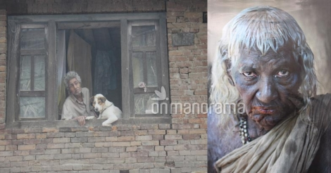 Of fallen teeth and wrinkled skin: Shiju captures the colors of old age
