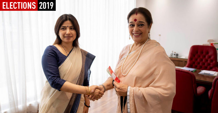 Days after Shatrughan's Congress entry, wife Poonam joins SP