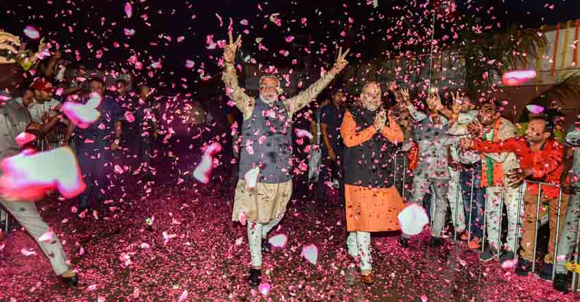 BJP wins Lok Sabha Elections 2019