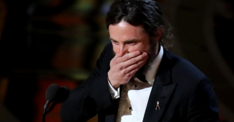 Casey Affleck forgot something in his Oscar speech and it's breaking his heart