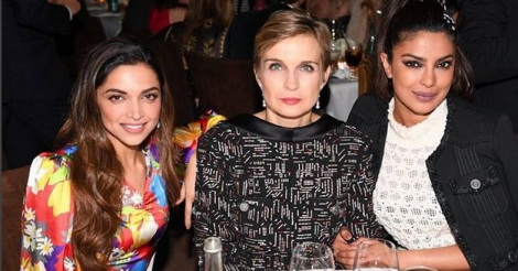Deepika, Priyanka dazzle in sequins at Oscars after-party