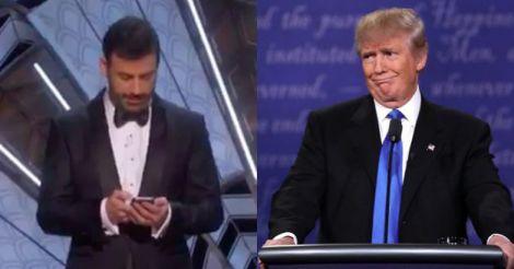 Jimmy Kimmel gives Donald Trump an Oscar wake-up call on Twitter
