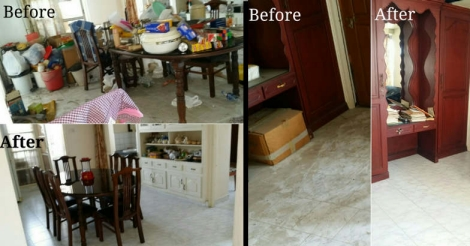 Before and after images