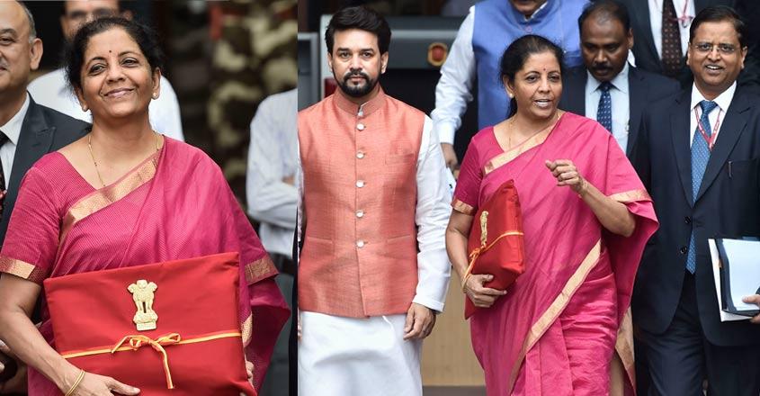Sitharaman dumps Budget briefcase for 'bahi khaata'