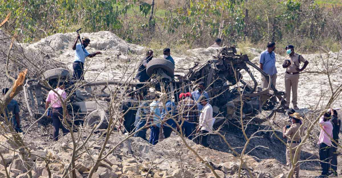 Five killed in explosion at quarry in Karnataka's Shivamogga, three arrested; CM announces Rs 5 lakh solatium