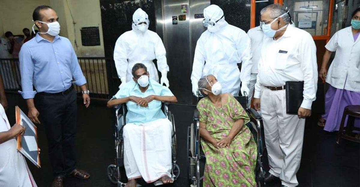 Kerala's 93-year-old COVID-19 survivor dies of age-related ailments in Ranni